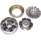 VARIATOR COMPLET WITH PULLEY - HONDA 50CC PEUGEOT