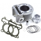 CYLINDER KIT 125CC - YAMAHA CYGNUS 4V 03-, MBK X-OVER 125 IE 4T