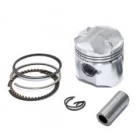 PISTON KIT  Ø39 MM 4-Valve - PIAGGIO 50CC 4T FLY / VESPA LX / S / SPRINT D.39MM