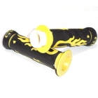 HANDLEBAR RUBBER -  black, yellow