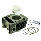 CYLINDER KIT COMPLETE 125CC 4T AC 57MM PIN-15MM - APRILIA SPORT CITY, PIAGGIO, LIBERTY