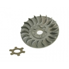 VARIATOR PULLEY  INCL. WASHER CLAW FOR VARIATOR 16MM ENGINES - CPI, KEEWAY