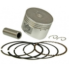 PISTON KIT [COMPLETE] 125CC - GY6 125 D=52.4MM