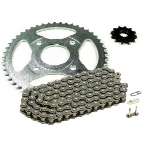 Chain & Sprocket Set AFAM Yamaha TZR50 '00-'02