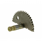 KICKSTART SPROCKET STARTER SHAFT x SPINDLE - PEUGEOT, HONDA 50cc